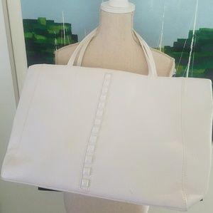 WHITE OVERSIZE BAG